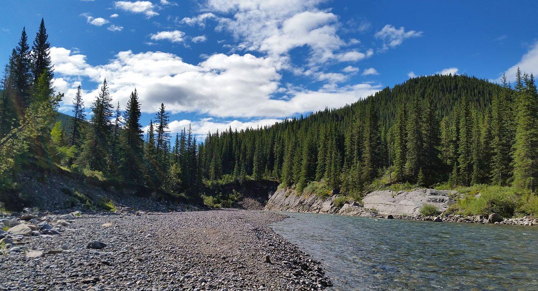 Ram River, Alberta