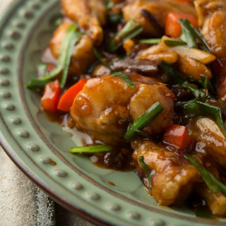 Stir-Fried Frog Legs