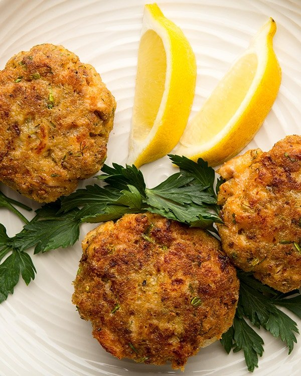 trout cakes recipe