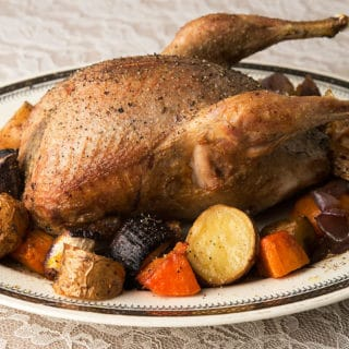 Roast Sharp-tailed Grouse