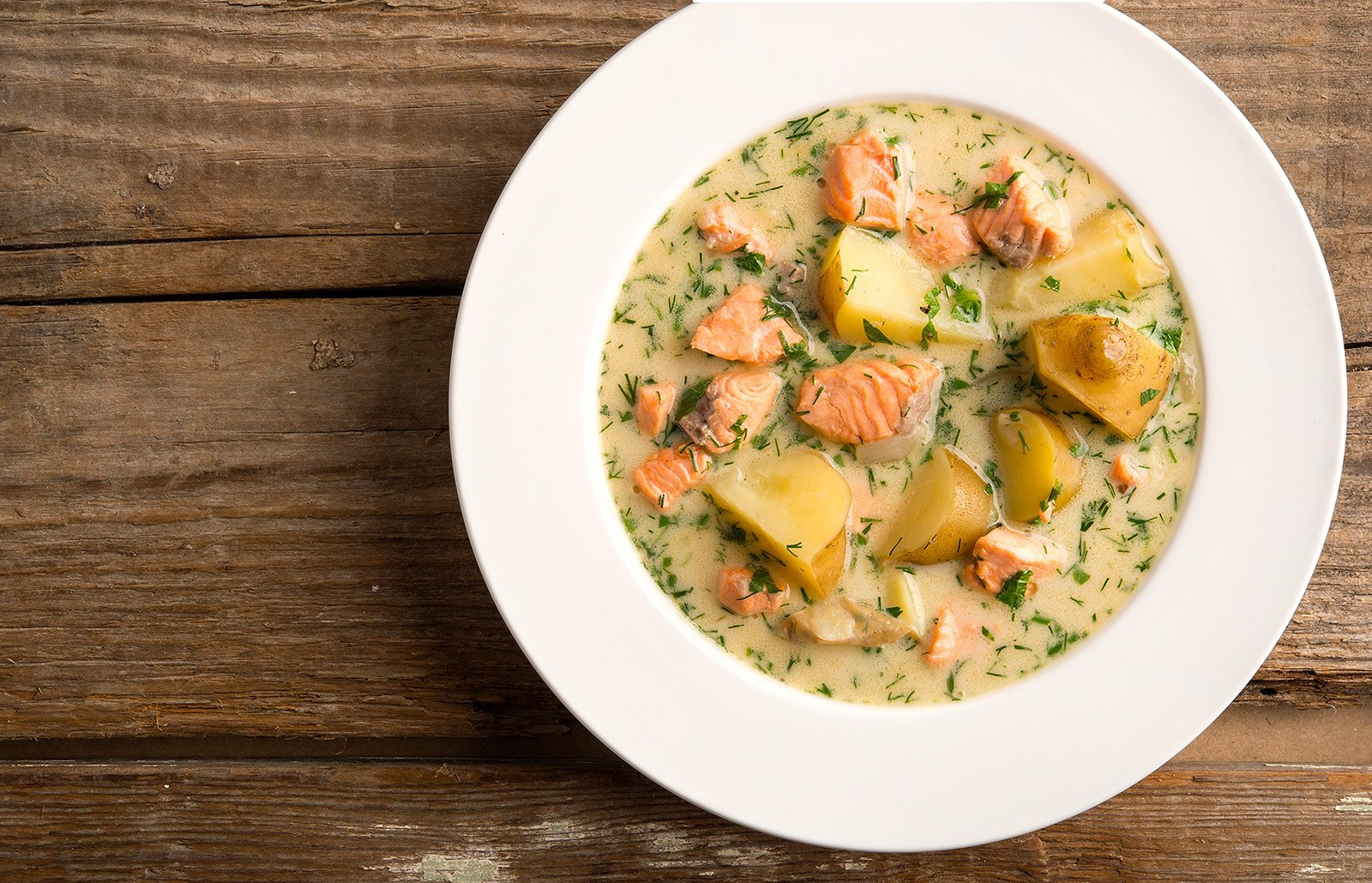 salmon soup recipe