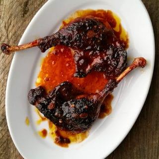 duck legs recipe