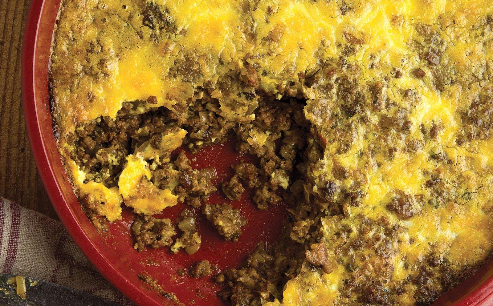 South African Venison Casserole A Bobotie Recipe