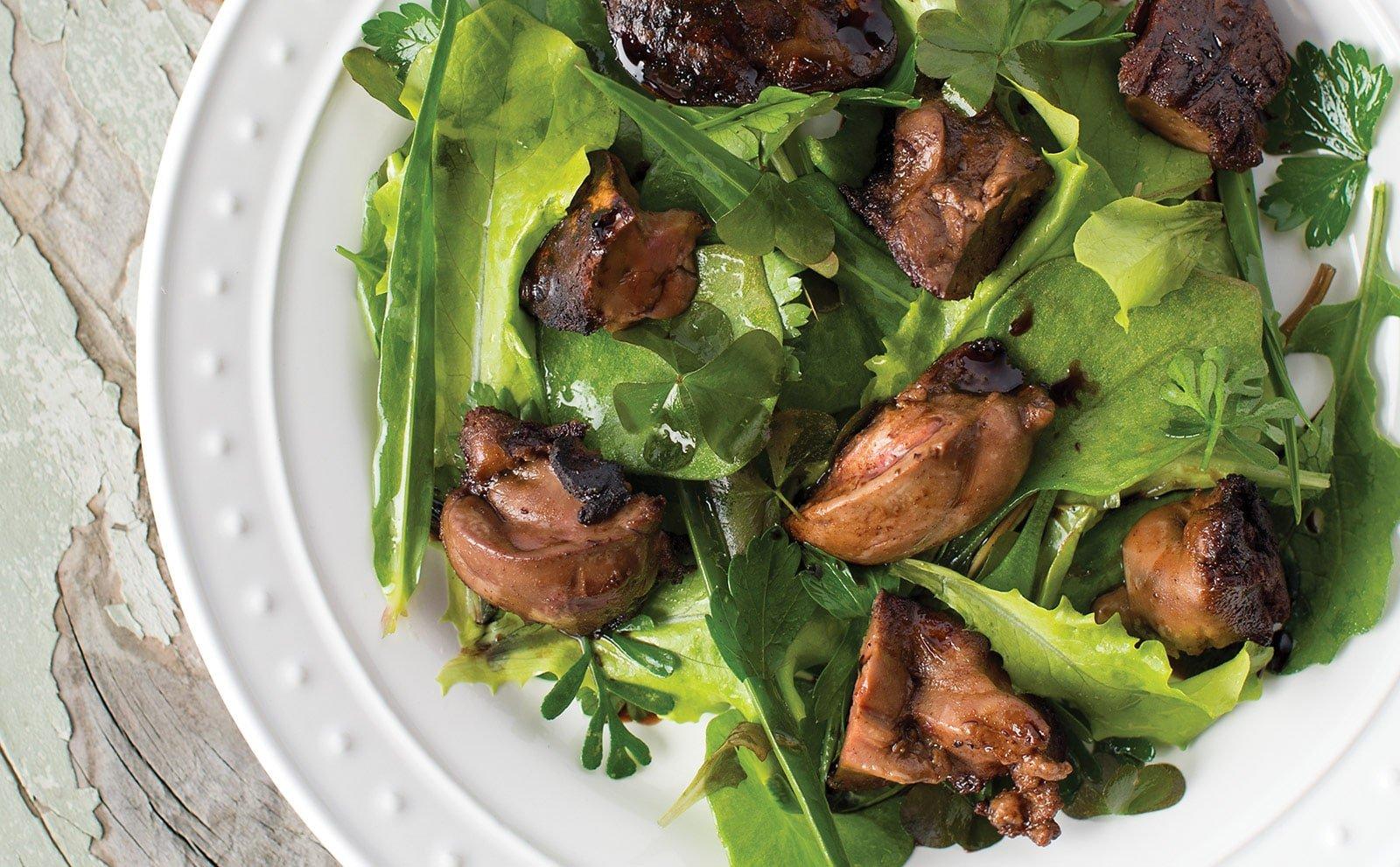easy duck liver recipe