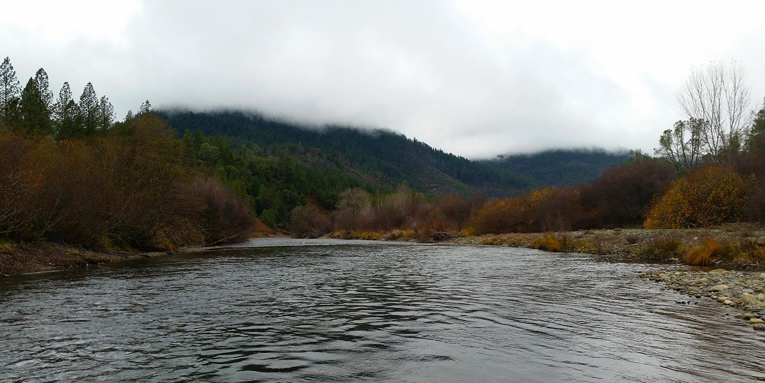 Trinity River, where steelhead live