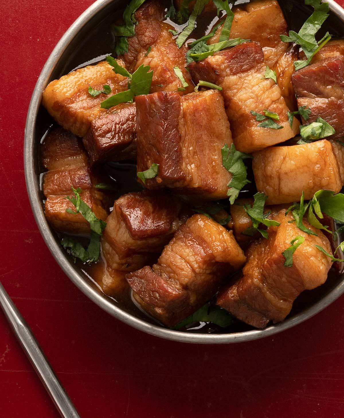 Chinese red pork recipe