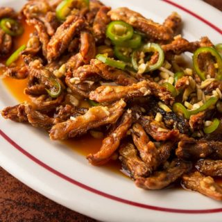Crispy Fried Duck Tongues