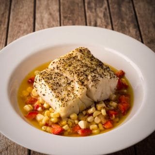 Butter poached tripletail recipe