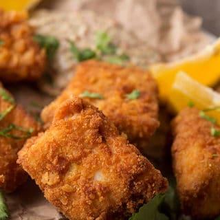 Fried snapper