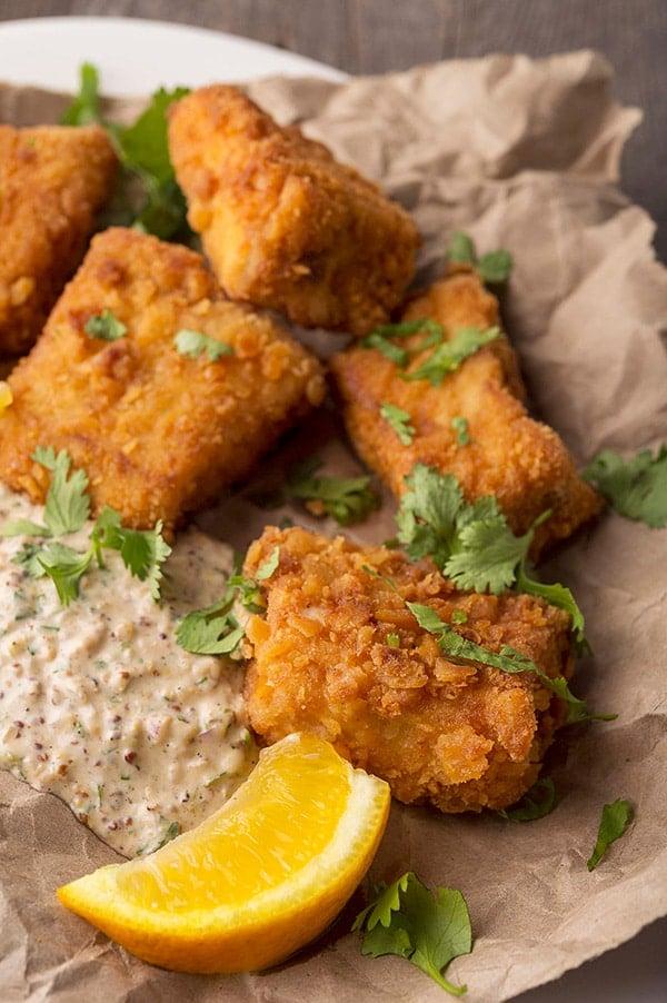 fried snapper bites recipe