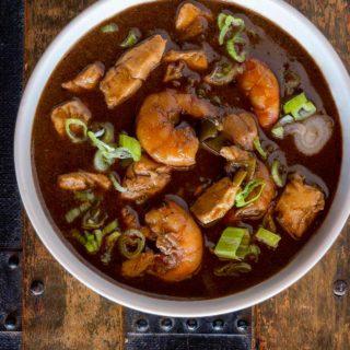 A Cajun seafood gumbo recipe
