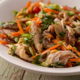 Vietnamese Smoked Fish Salad