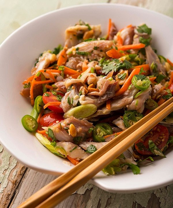 smoked fish salad recipe
