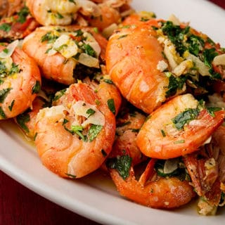 Spanish shrimp recipe