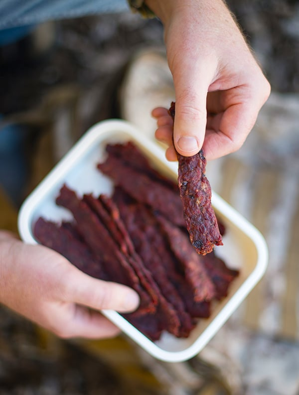 Pemmican Style Ground Meat Jerky