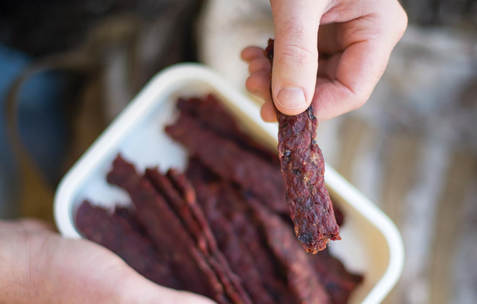 ground venison jerky