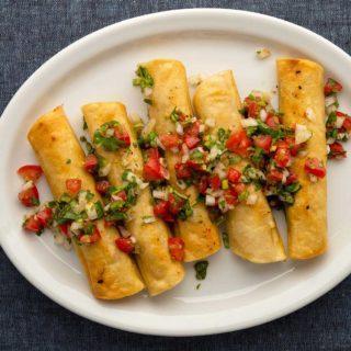 Tacos dorados recipe