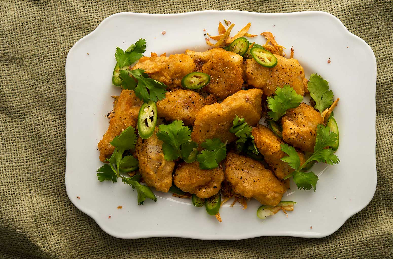 Chinese salt and pepper fish