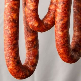 Mexican longaniza sausage