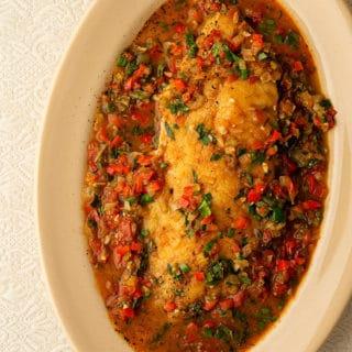 catfish courtbuillon recipe