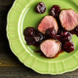 Cherry sauce for pork