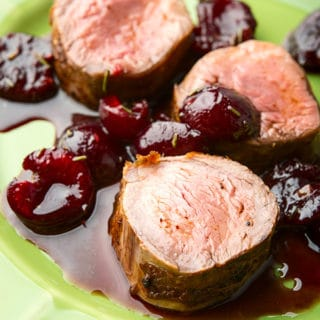 Cherry sauce for pork recipe