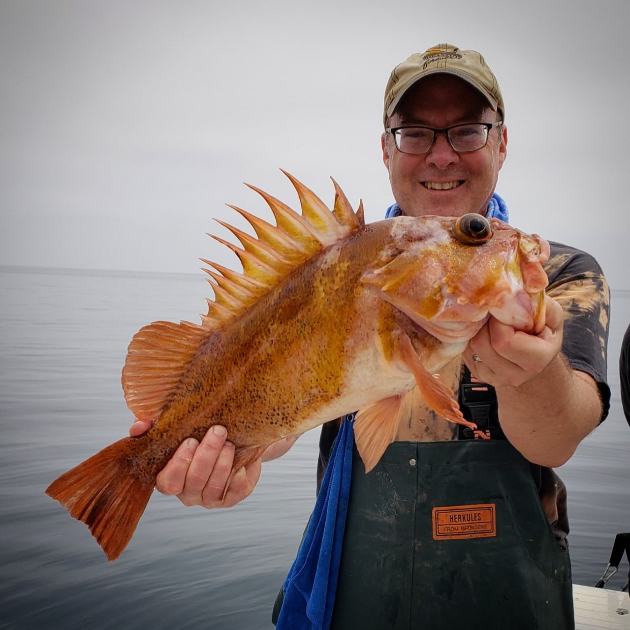 Hank with copper rockfish