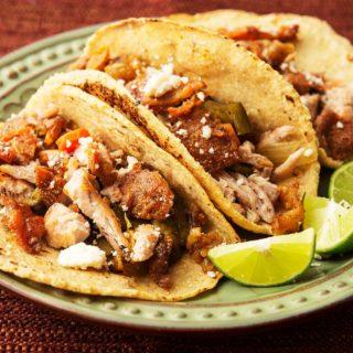 pheasant tacos