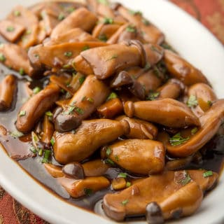 Chinese braised mushrooms recipe