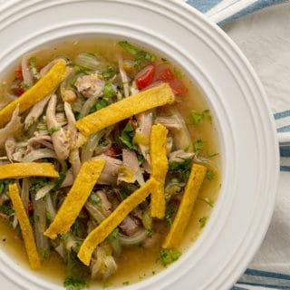 sopa de lima recipe
