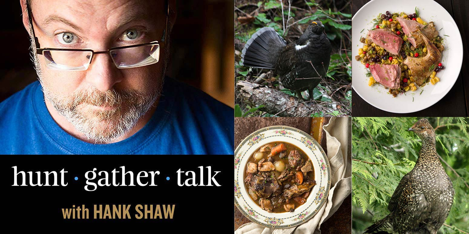 Hank Shaw podcast sooty grouse