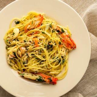 crab pasta recipe