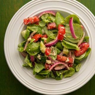 purslane salad recipe