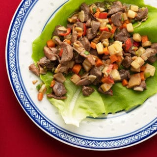Chinese lettuce cups recipe