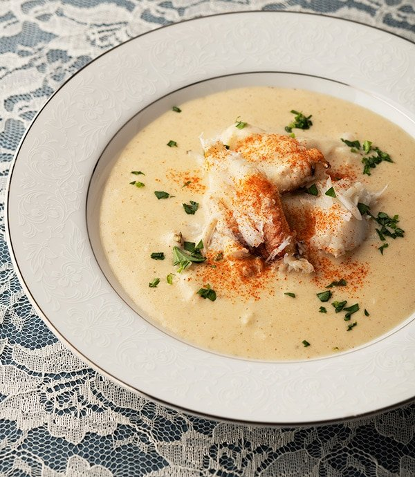 Cream Of Crab Soup Recipe She Crab Soup Hank Shaw