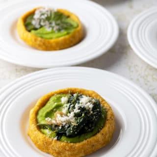 Closeup of vegetarian sopes