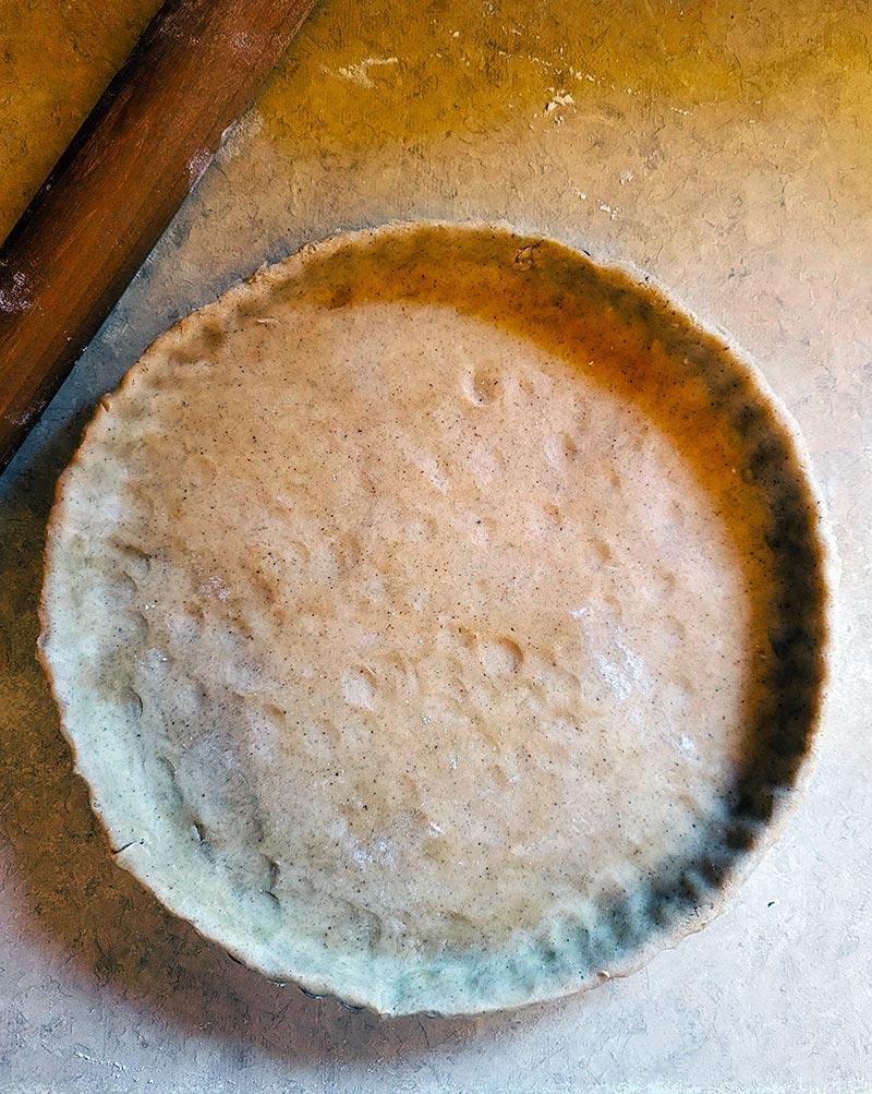 tart crust ready to fill
