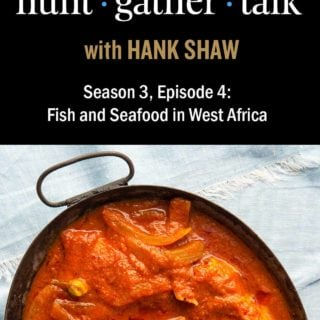 podcast art for Hung Gather Talk episode on West African food